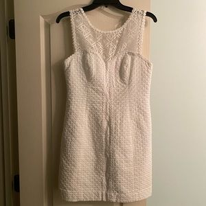 Worn once! Lilly Pulitzer White Dress